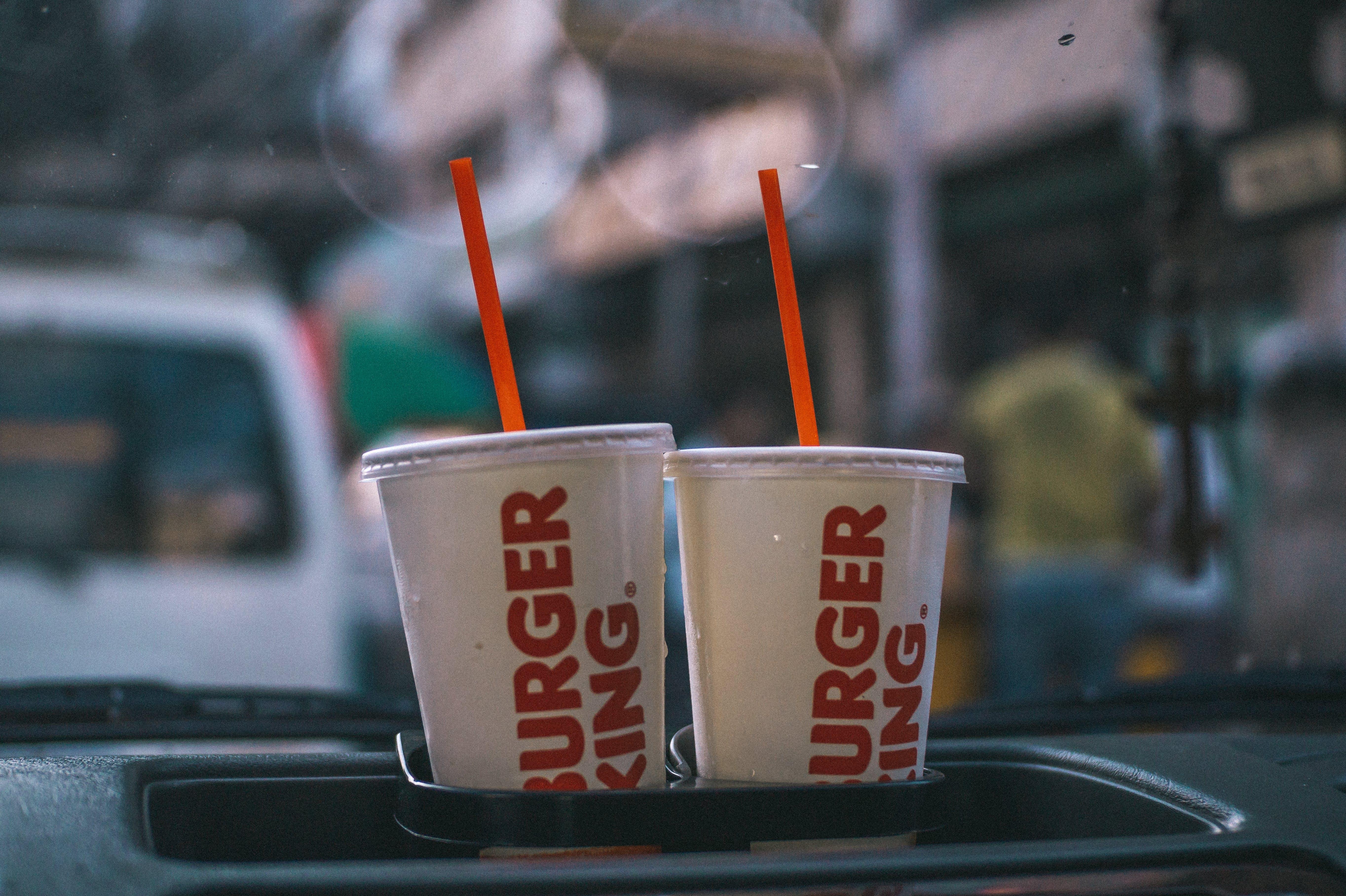 Free stock photo of burger king, thirsty