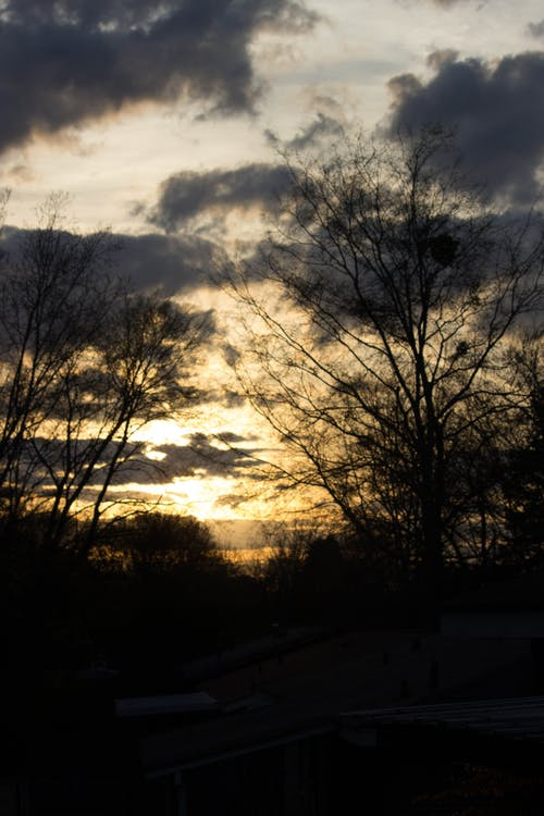 Ilmainen kuvapankkikuva tunnisteilla auringonlasku, iltataivas