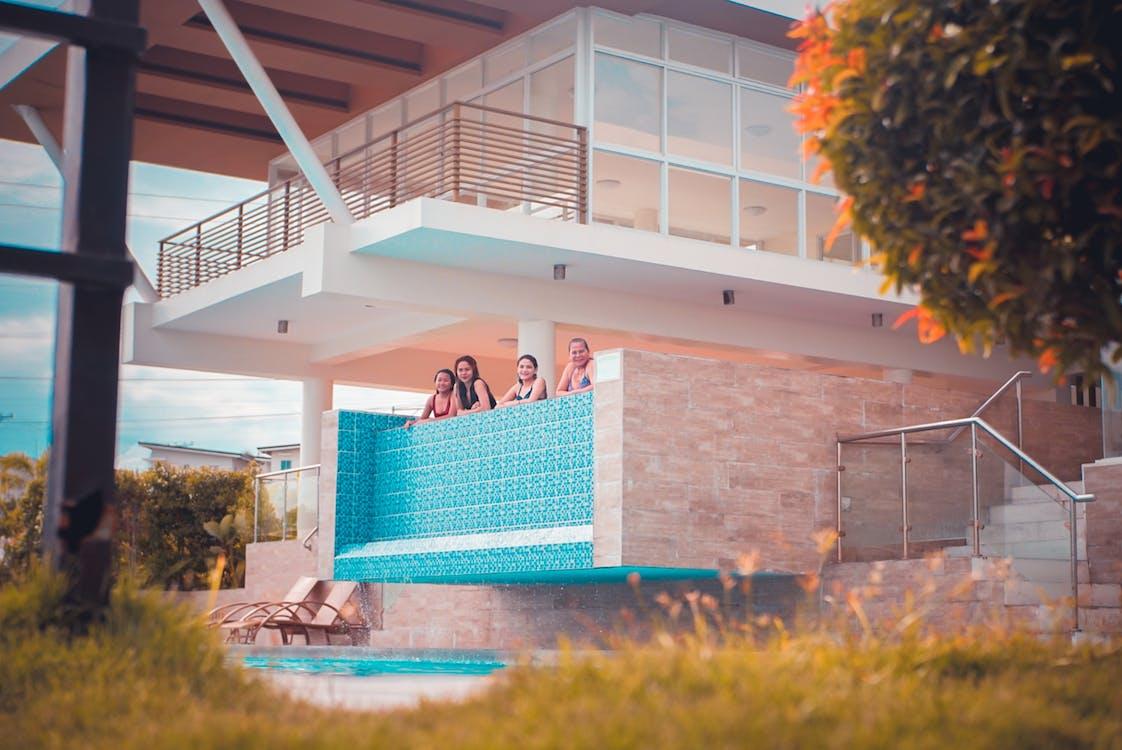 Filipinas, fotografía, naranja y verde azulado