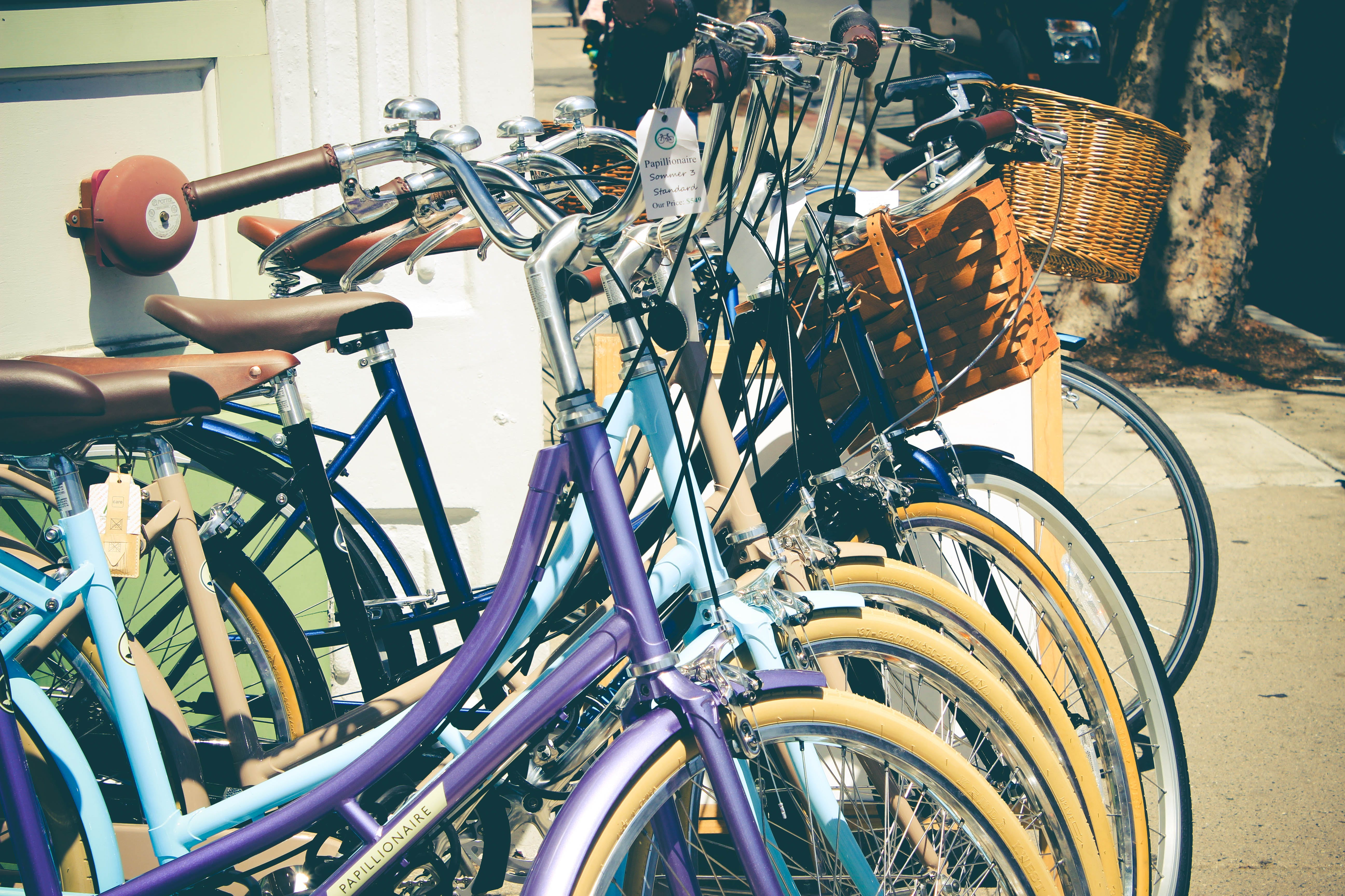 Assorted Cruiser Bicycles