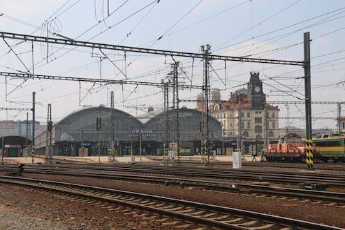 Free stock photo of main railway station praha, prague, praha, railway station