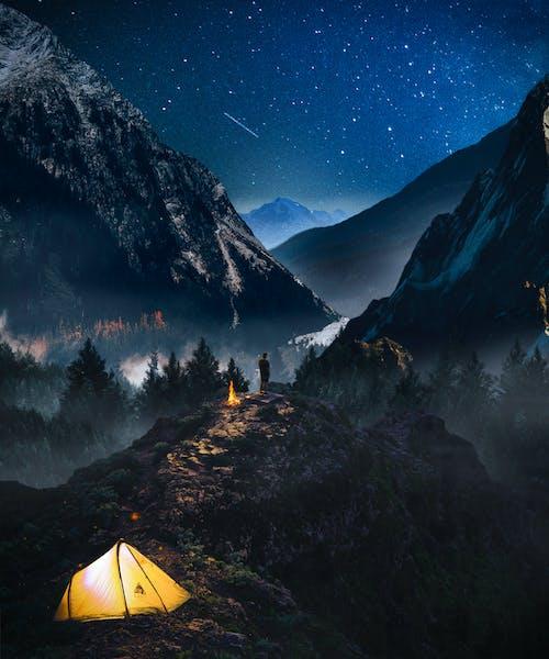 Ilmainen kuvapankkikuva tunnisteilla Adobe Photoshop, kaikki tähti, maisema, photoshop