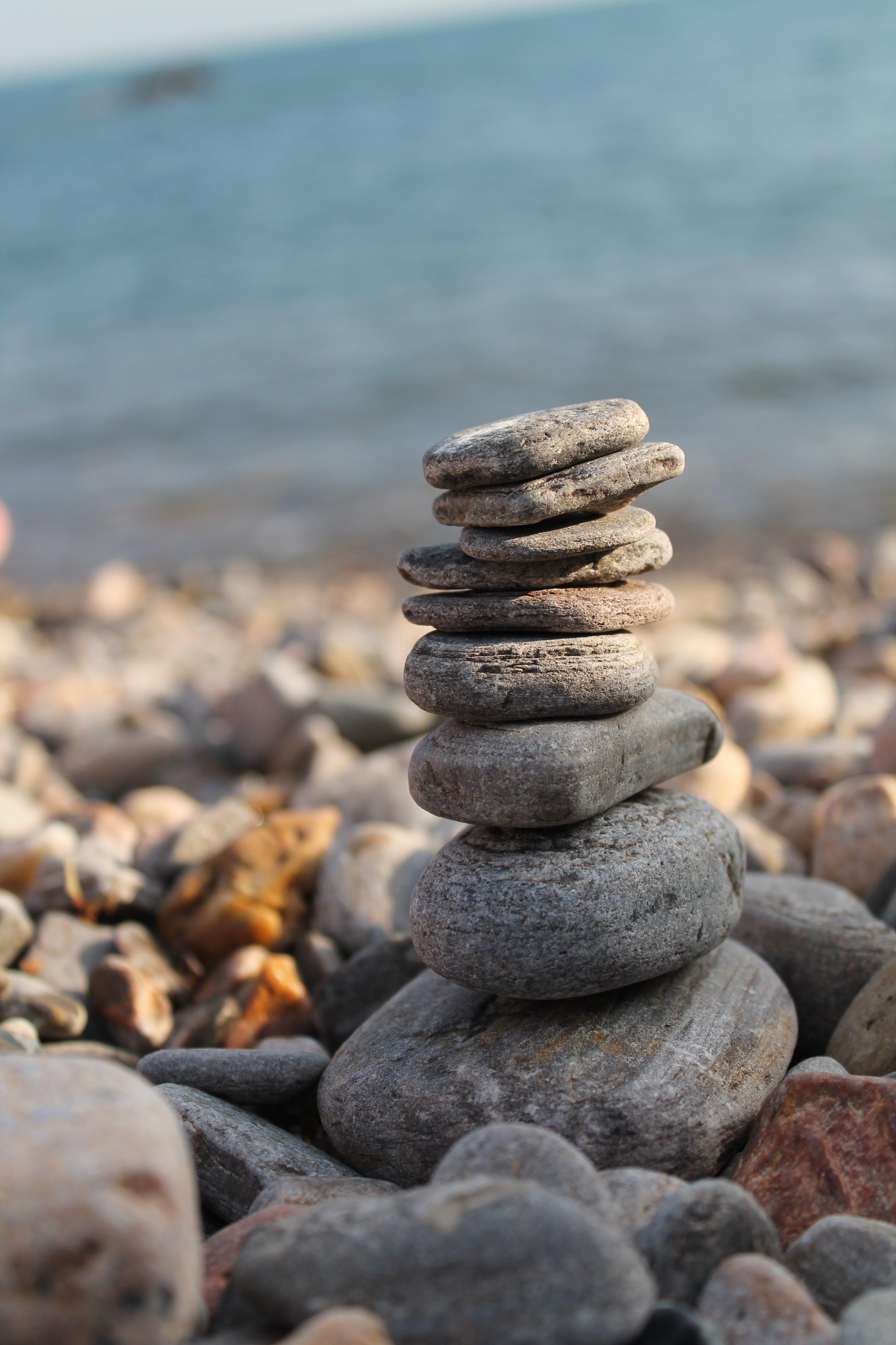 돌, 매크로, 물, 바다의 무료 스톡 사진