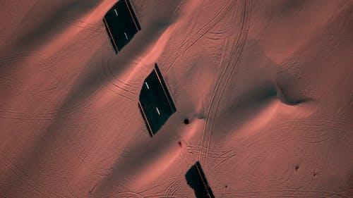 Ảnh lưu trữ miễn phí về bắn góc cao, bắn từ trên không, cảnh quay drone, cát