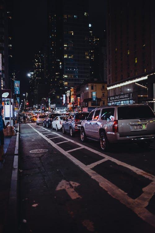 arkitektur, bil, biler