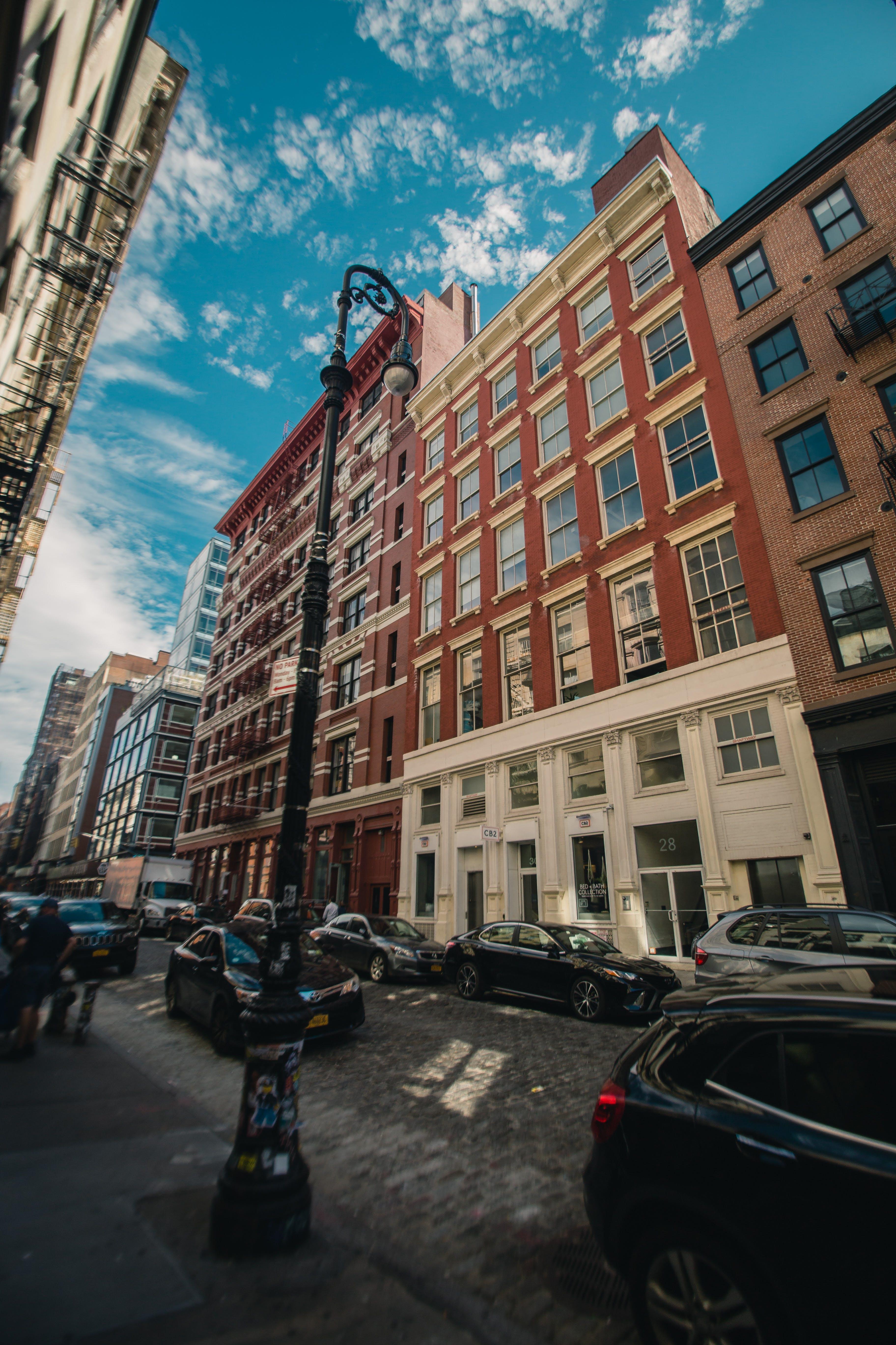 シティ, 乗り物, 建物, 建築の無料の写真素材