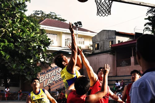 电子游戏, 男人, 籃球, 街 的 免费素材照片