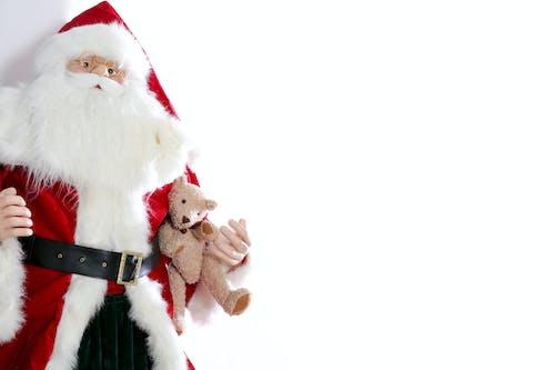 冬季, 泰迪熊, 聖誕, 聖誕節背景 的 免費圖庫相片