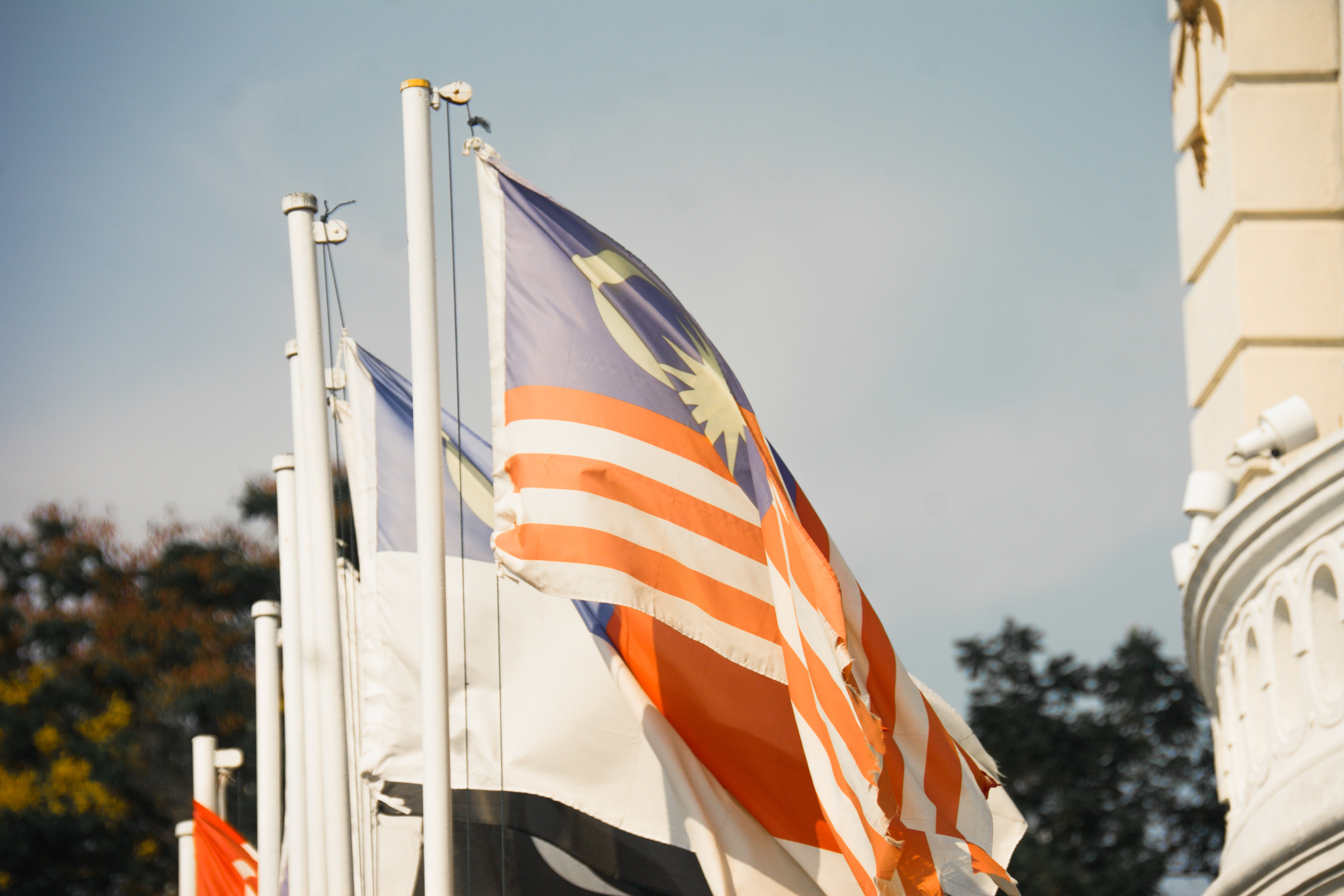 Free stock photo of BENDERA, bendera berkibar, benderamalaysia, benderamelaka