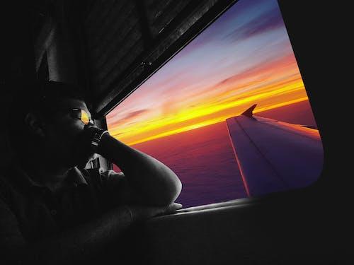 人, 人類, 做夢, 多彩的天空 的 免費圖庫相片