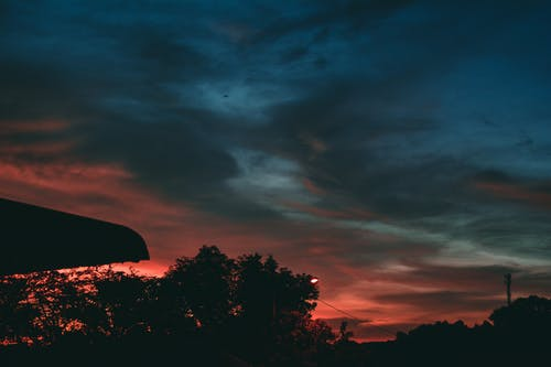 orangesky, 日落, 美丽的天空 的 免费素材照片