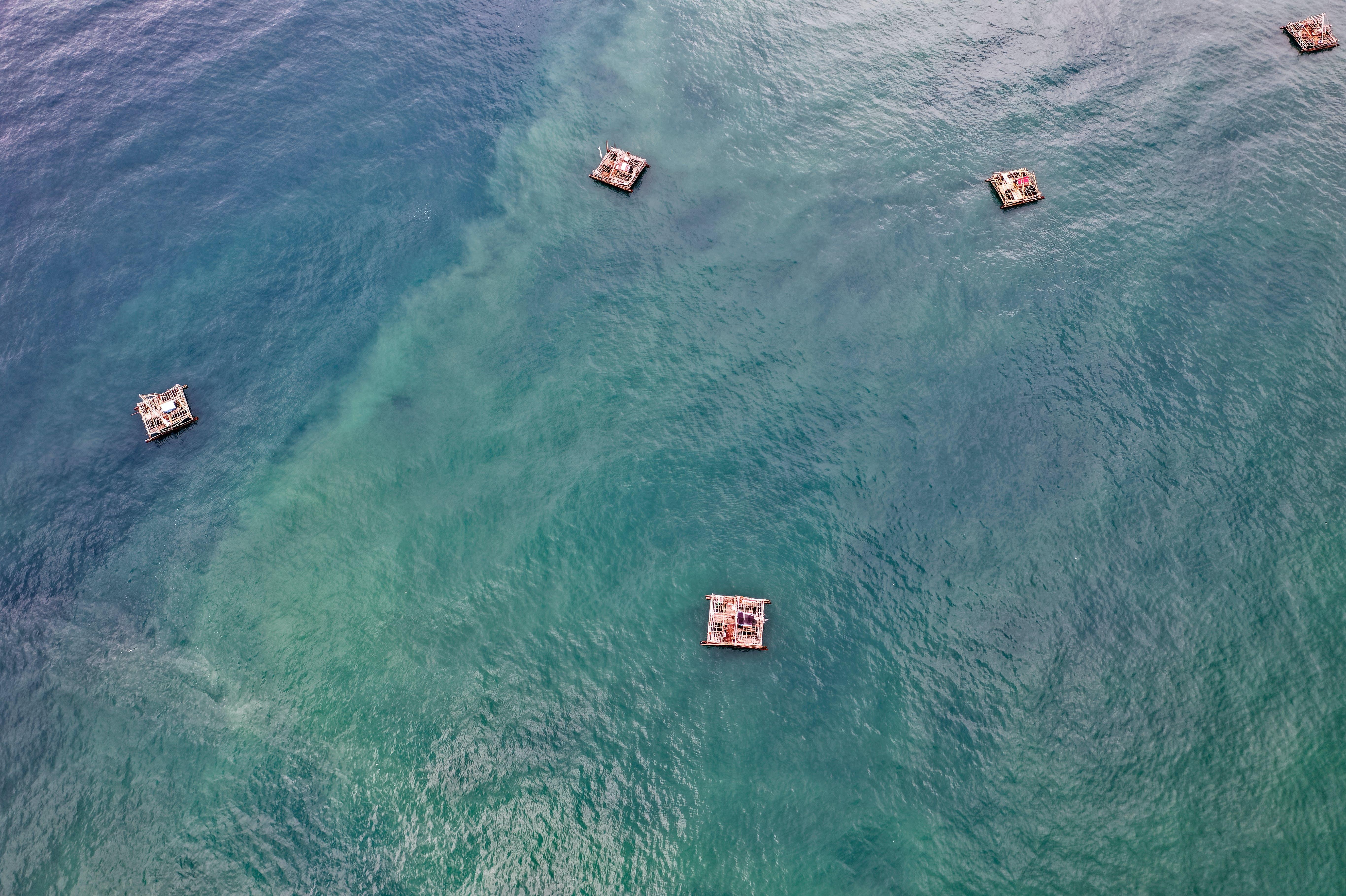 คลังภาพถ่ายฟรี ของ กลางวัน, ทะเล, น้ำ, ฟุตเทตโดรน