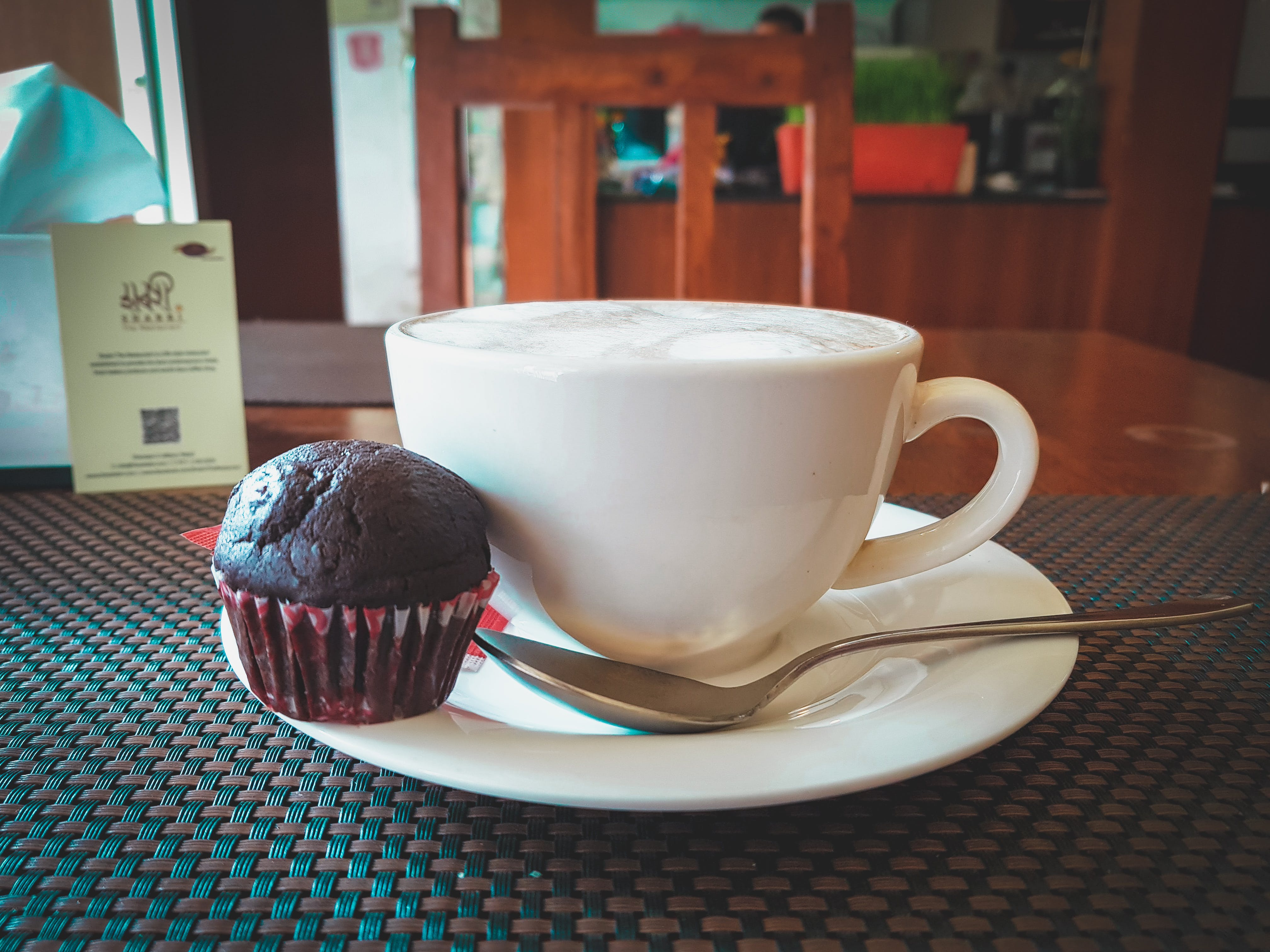 Free stock photo of bar cafe, chocolate cupcakes, coffee, coffee beans