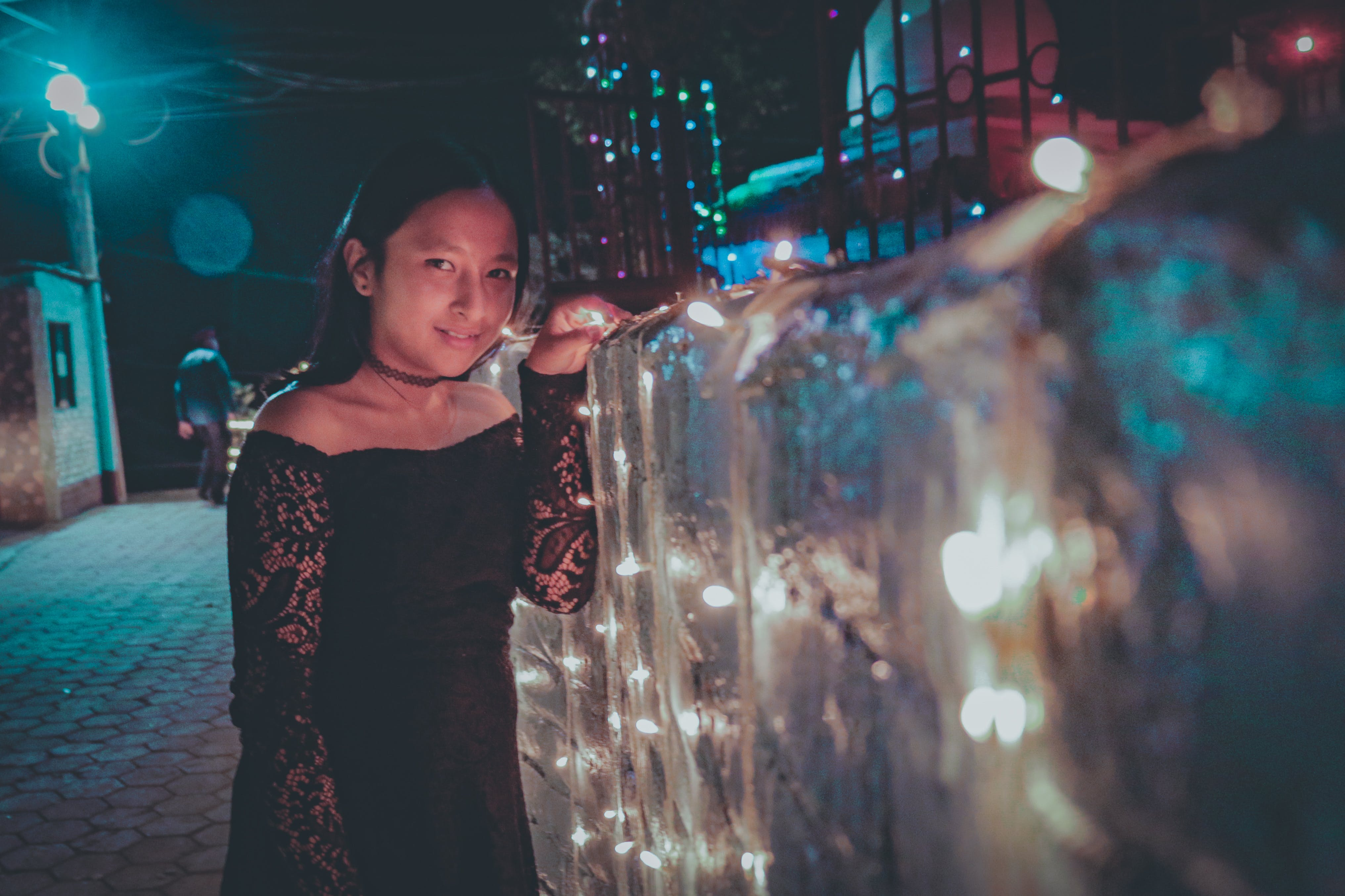 Free stock photo of afterglow, fairy lights, fairy tale, glow