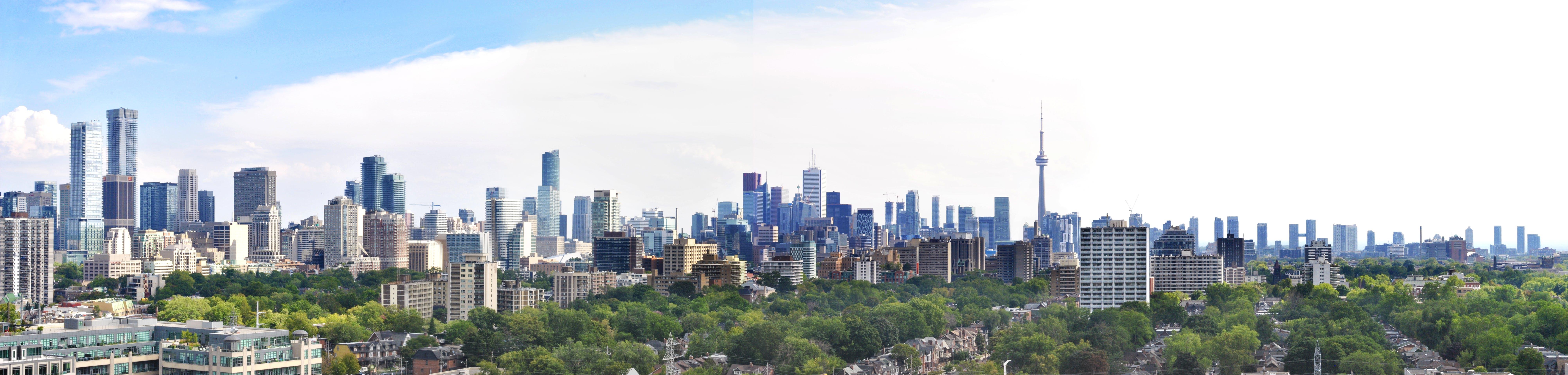 Free stock photo of Large Toronto Panorama