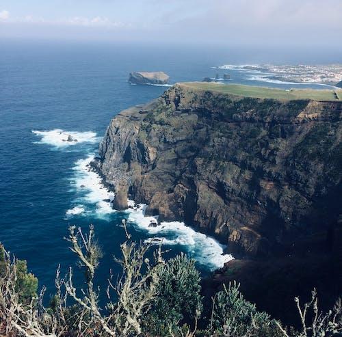 Gratis stockfoto met Azoren, klif, kliffenkust, kust met kliffen