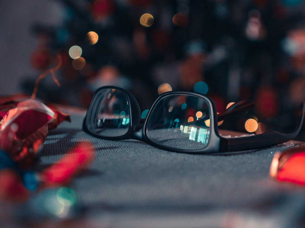 Shallow Focus Photography of Eyeglasses