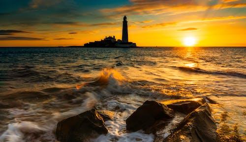 Fotobanka sbezplatnými fotkami na tému idylický, krajina, krajina pri mori, krásny