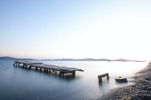 Základová fotografie zdarma na téma čluny, dřevěná deska, dřevo, hory