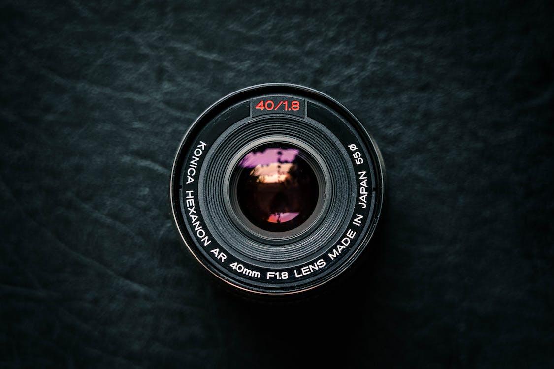 elektronik, kameralinse, linse