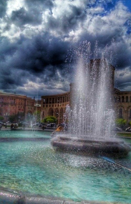 도시, 방파제의 무료 스톡 사진