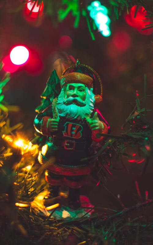 Ceramic Santa Figurine