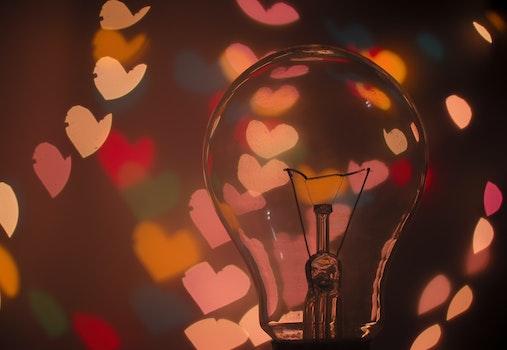Macro Shot of Light Bulb