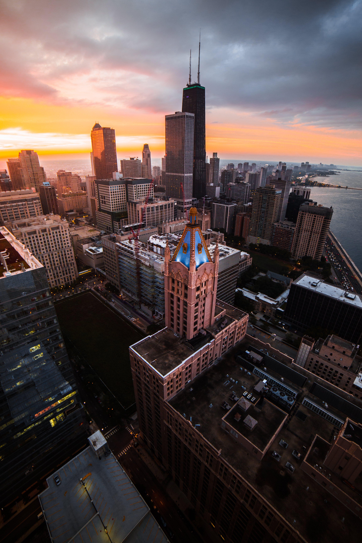 Δωρεάν στοκ φωτογραφιών με αρχιτεκτονική, αστική περιοχή, αυγή, γραμμή ορίζοντα