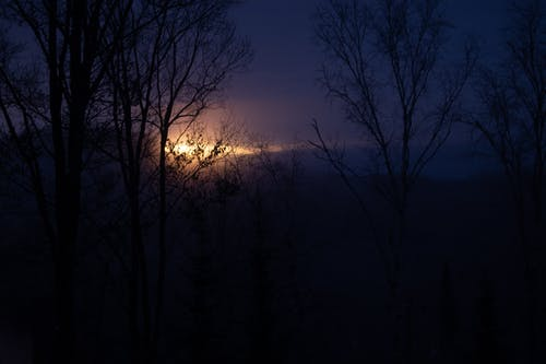 山, 日出 的 免费素材照片