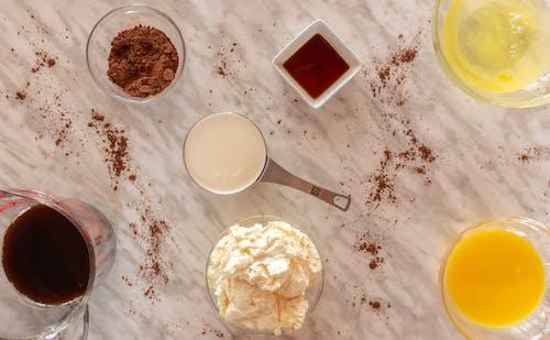 乳液, 乳酪, 咖啡, 提拉米苏 的 免费素材照片