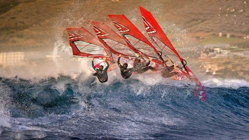 Δωρεάν στοκ φωτογραφιών με extreme sport, Surf, windsurfing, αναψυχή