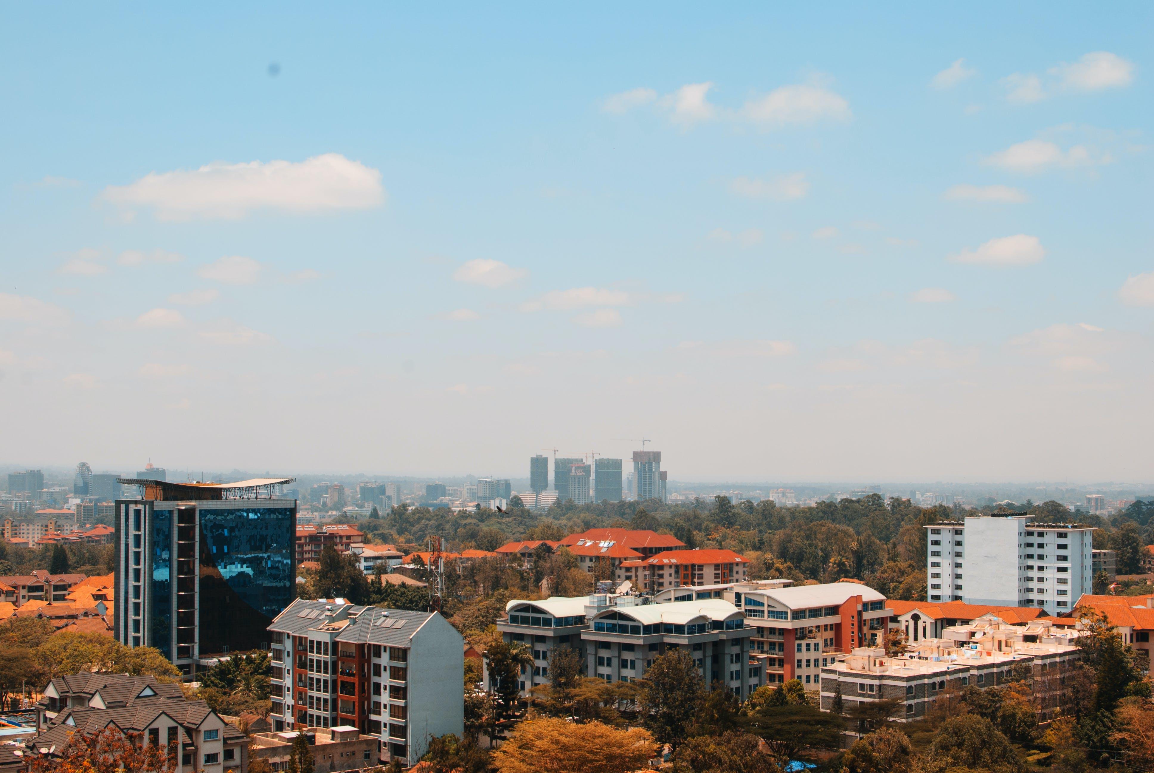Gratis stockfoto met binnenstad, bird's eye view, gebouwen, plaats