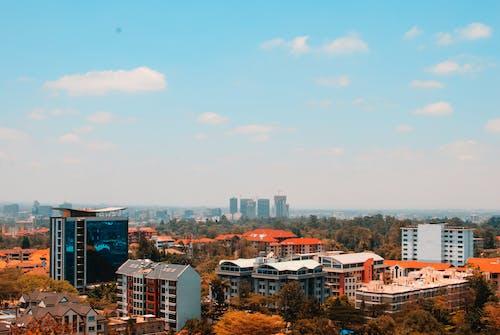 Gratis stockfoto met binnenstad, bird's eye view, gebouwen, luchtfoto