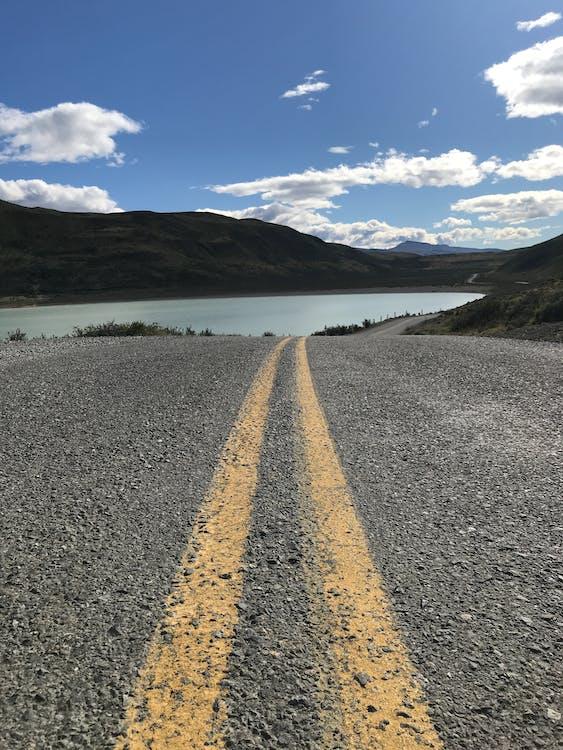keçi yolu, montain, patika içeren Ücretsiz stok fotoğraf
