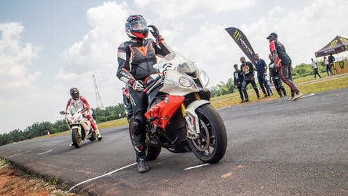 Free stock photo of biker, bikers, extreme sport, motorsports