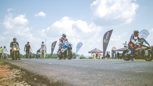 Gratis lagerfoto af bevægelse, cykling, cyklister, drag race