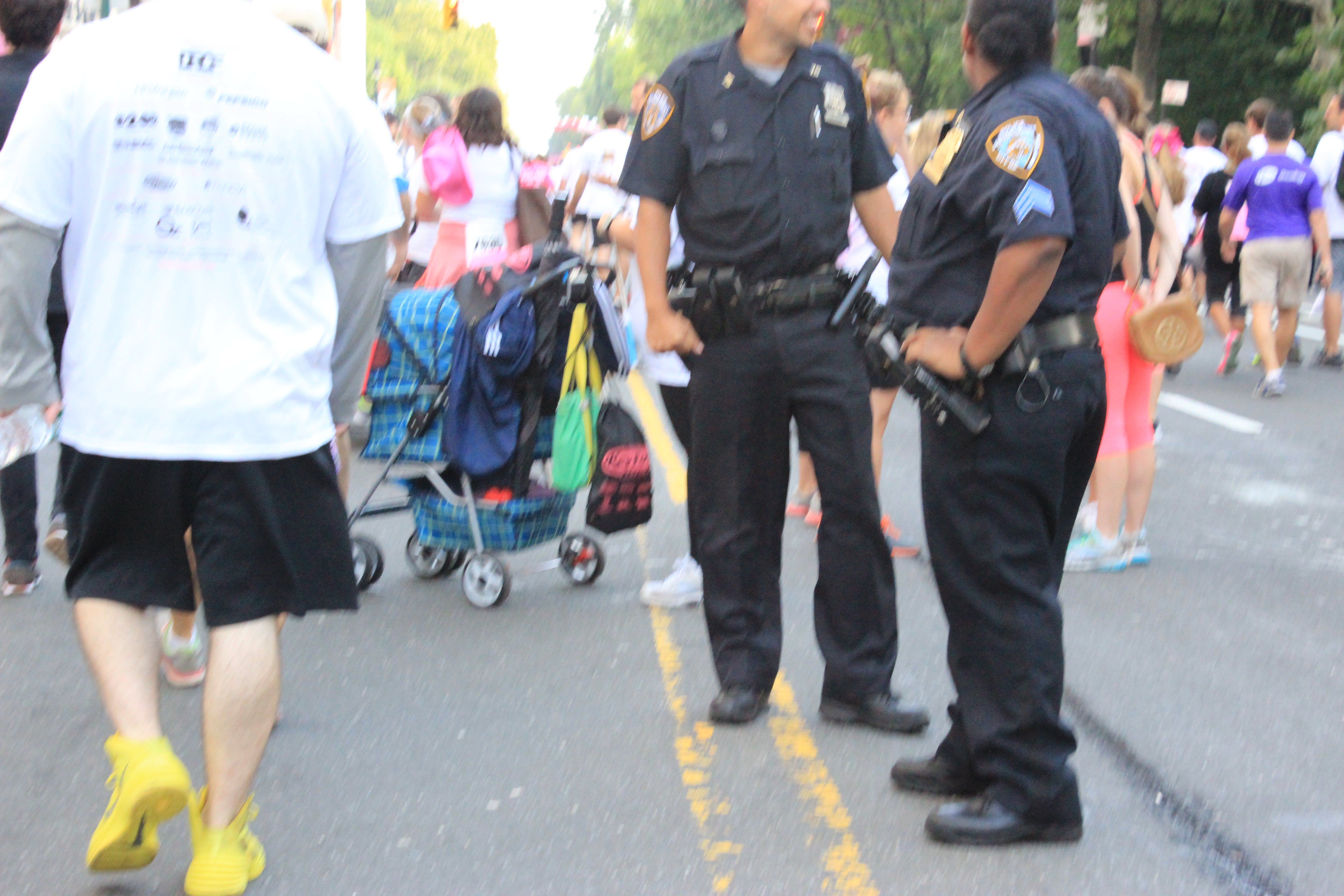 Free stock photo of cancer walk, central park, new york, NYPD