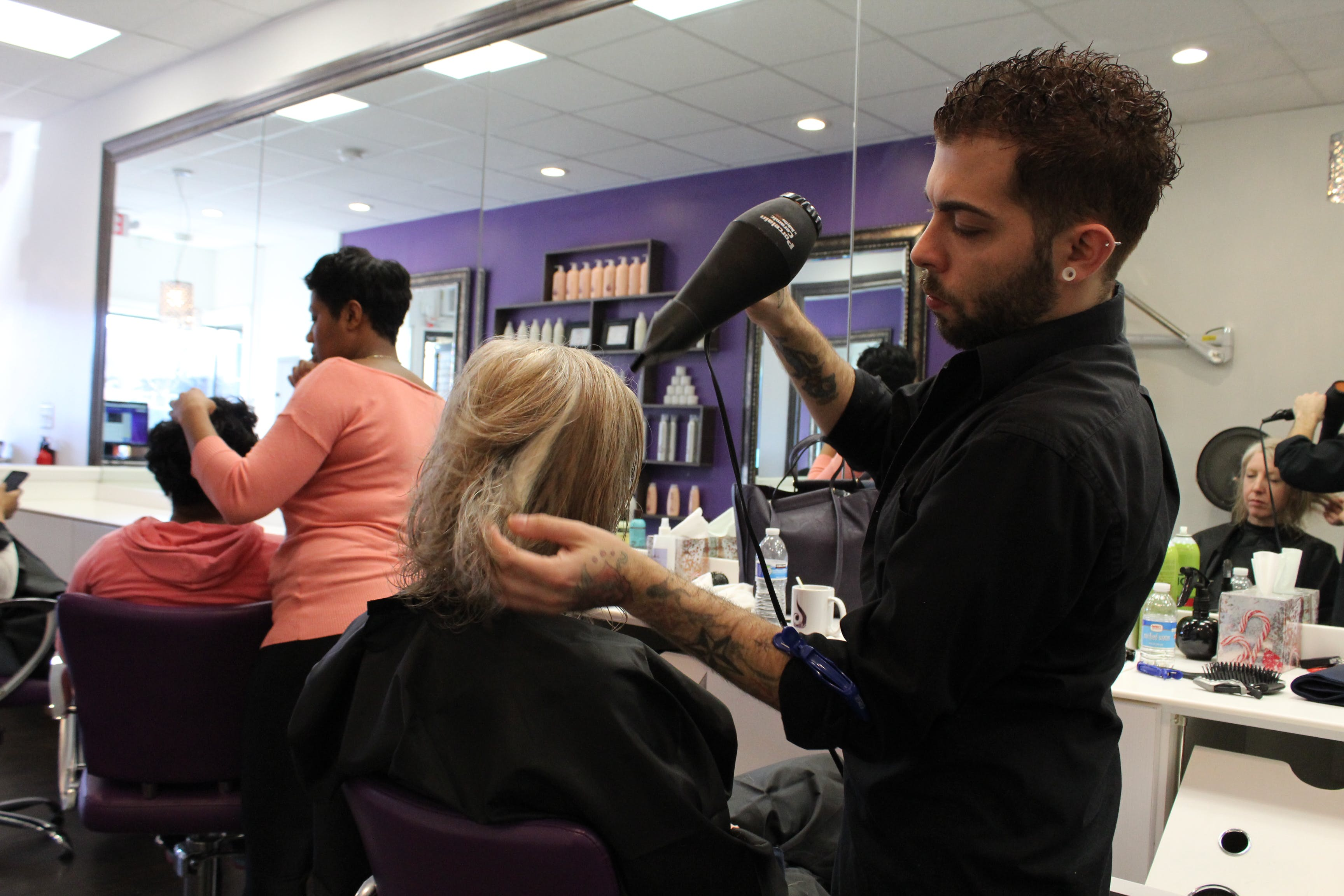 Free stock photo of blow dry, hair, new jersey, salon