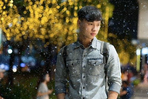 Gratis lagerfoto af ansigtsudtryk, asiatisk dreng, asiatisk mand, close-up