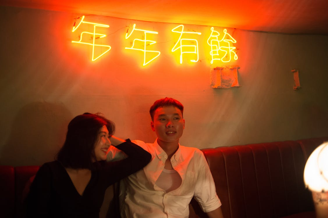 asiatisk par, nikon, vietnamesisk