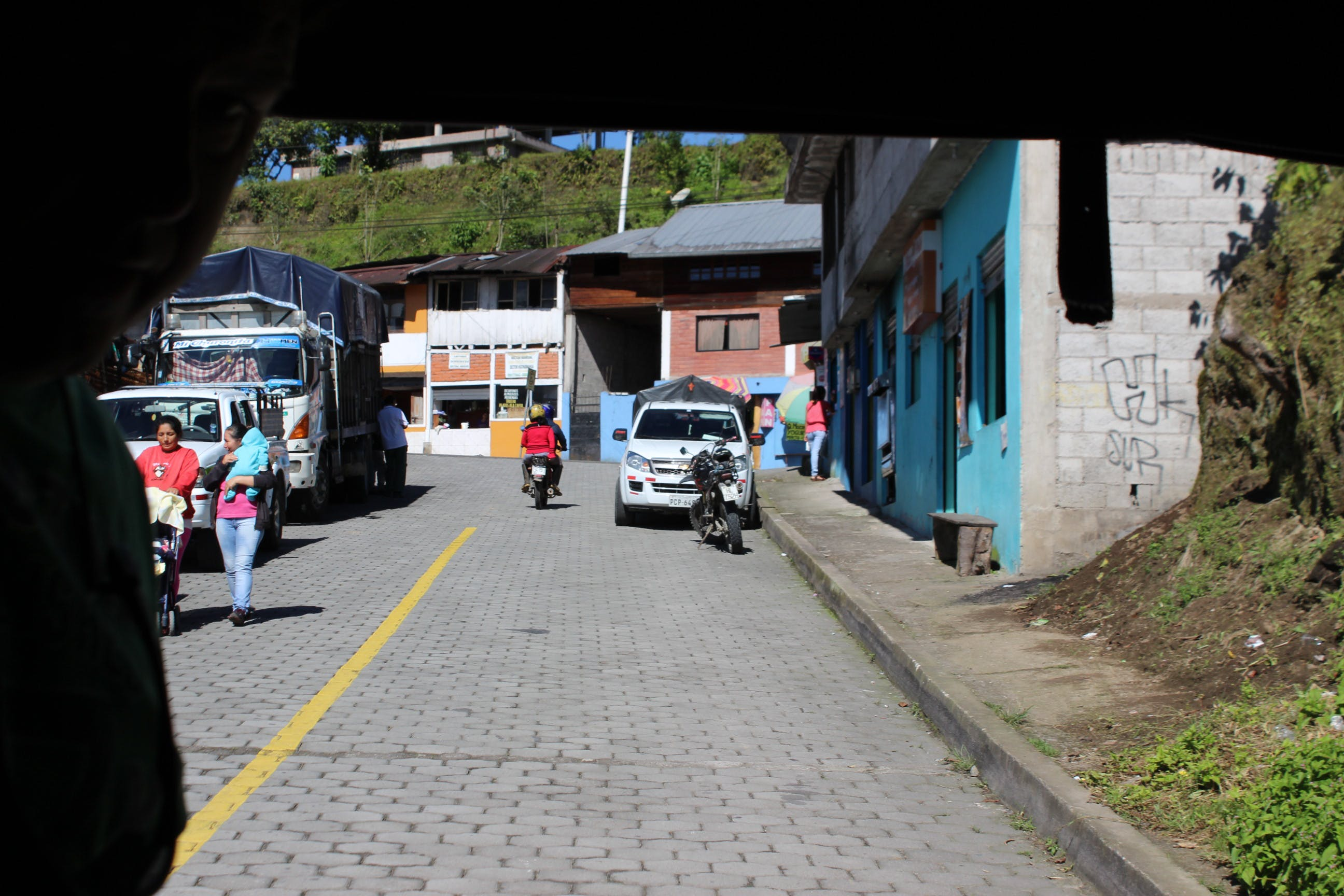 Free stock photo of clorful, ecuador, foreign, houses