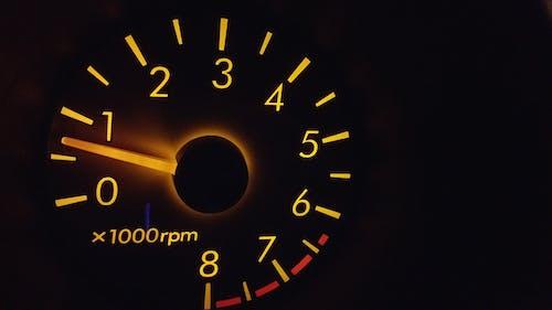 Kostnadsfri bild av design, hastighetsmätare, instrumentbräda, lysande