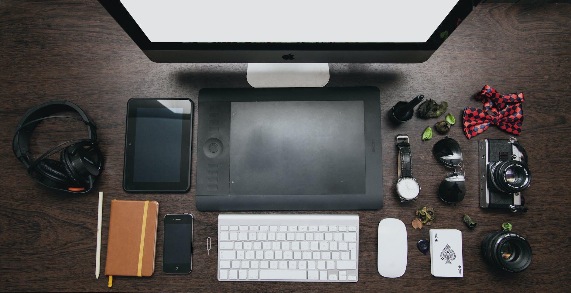 Workstation und typische mobile Endgeräte