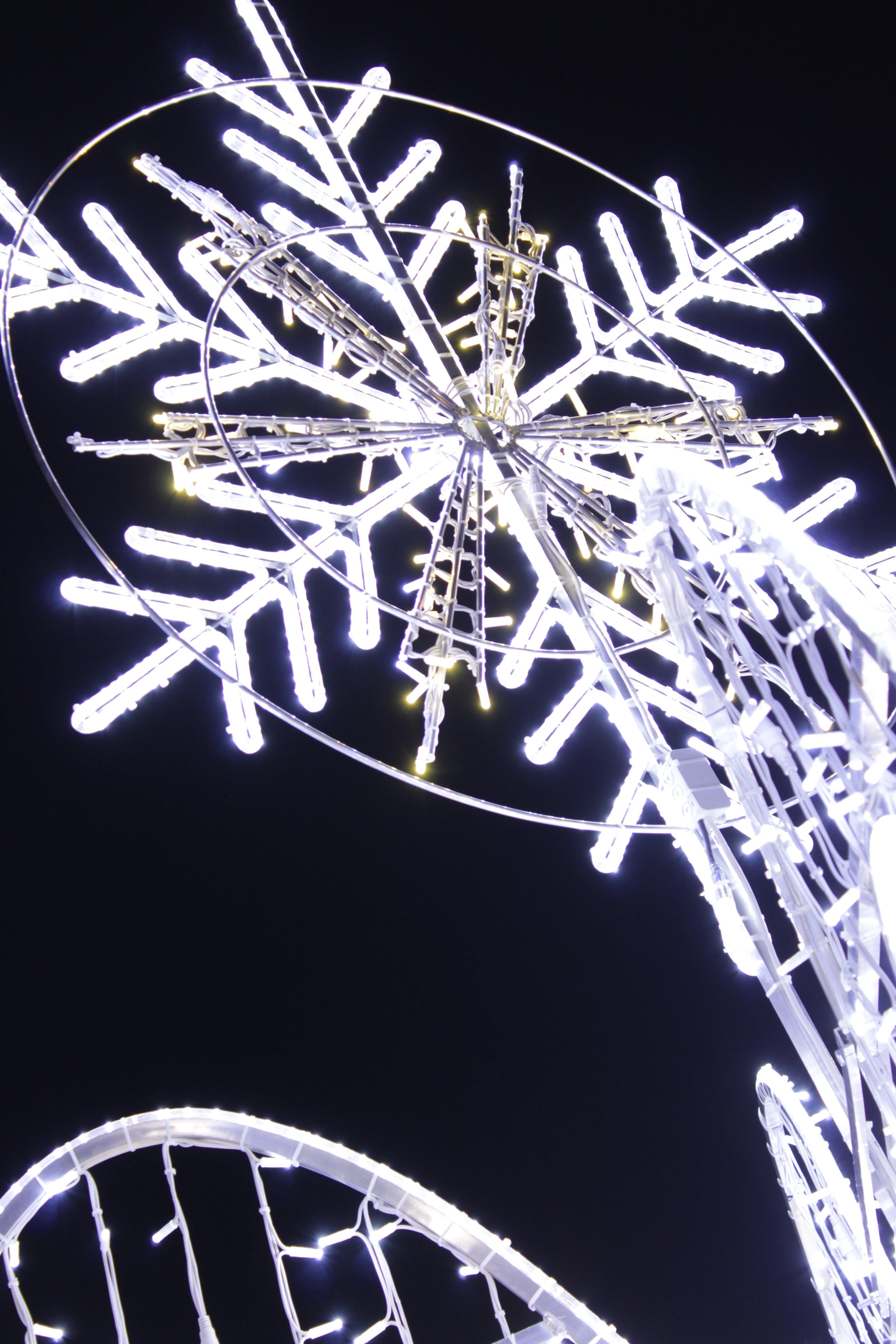 Foto d'estoc gratuïta de clareja, floc de neu, fosc, nadal