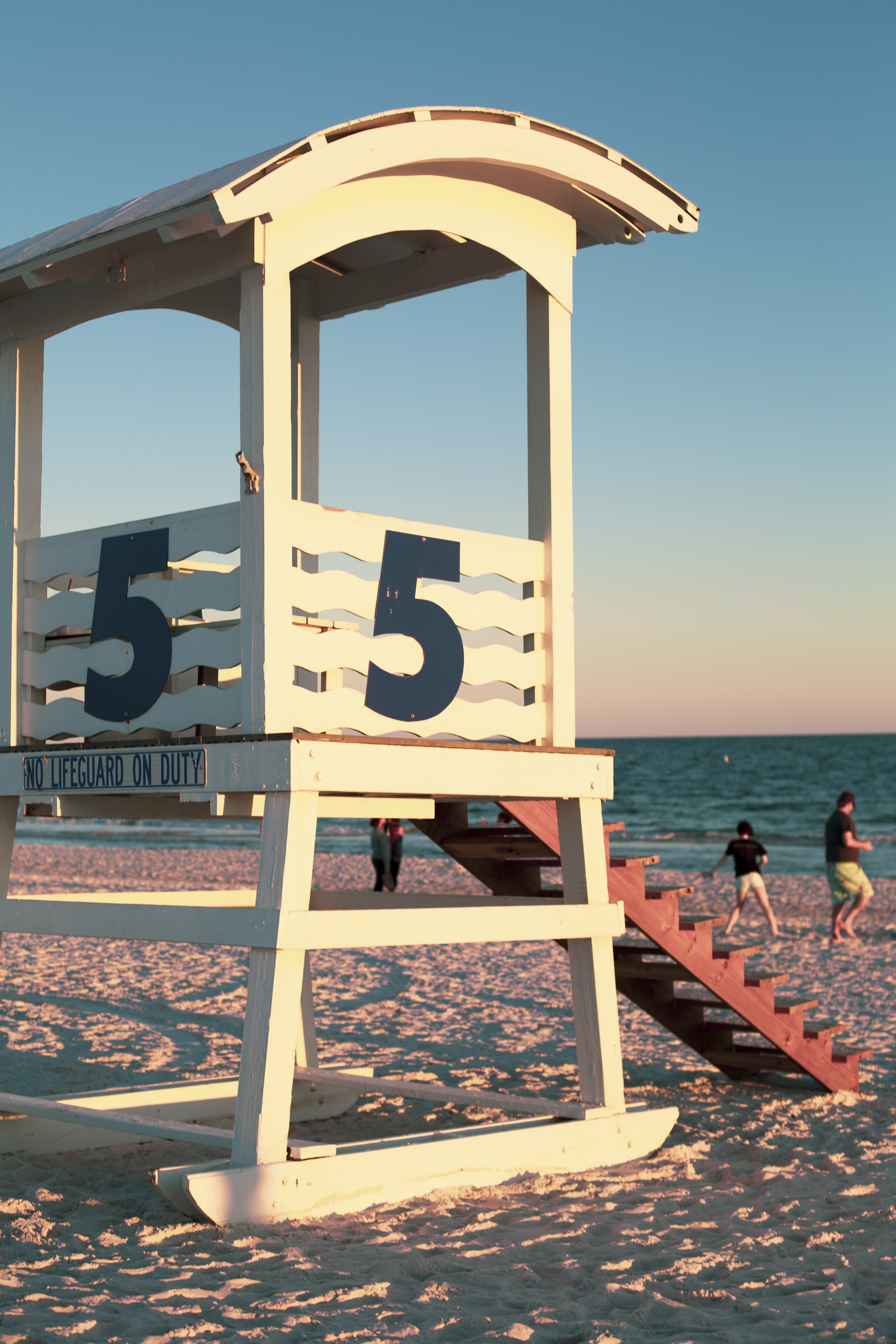 Free stock photo of beach, five, life guard, ocean