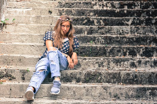 Free stock photo of stairs, fashion, person, woman