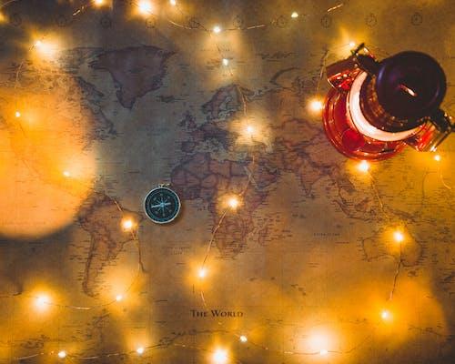Gratis stockfoto met Kerstmis, wereldkaart