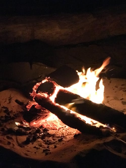 Kostenloses Stock Foto zu am strand, brand, brennen, feuer