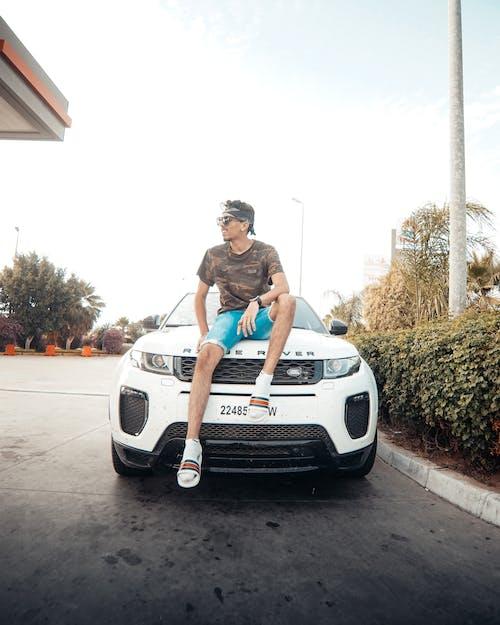 Безкоштовне стокове фото на тему «range rover, автомобіль, автомобільний, дорога»