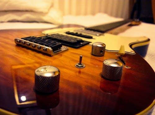 Gratis lagerfoto af elektrisk, guitar, lyd, musik